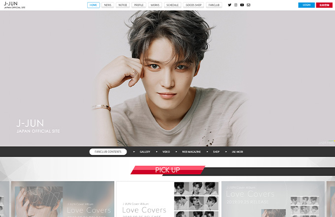 ジェジュン J-JUN  OFFICIAL SITE